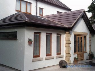 projects, types of extensions, materials, finishing