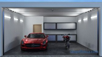 The best ideas for the arrangement of the garage inside, instructions, photos and videos