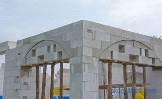 Projects of houses from aerated concrete. Ready and typical projects of houses and cottages from aerated concrete