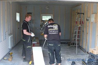 Garage repair - stages of the construction and repair process