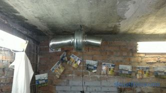 Features of the cellar ventilation in the garage. How to organize high-quality ventilation system