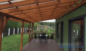 Shed Canopy: Classification and Construction Technology