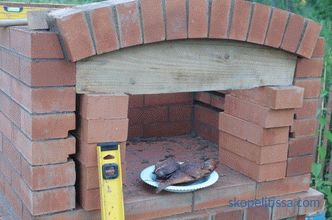 Brick barbecue stove: the feasibility of construction, varieties, construction process