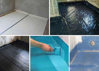 Bathroom finish in the country - features of waterproofing and choice of finishing coating