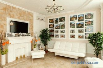 The use of stone in the interior decoration