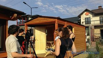 "Shooting of the television program at the exhibition of houses ""Low-Rise Country"""