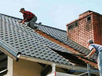 Shut the roof in the country - the price of work, how much it costs to block the roof in a private house in the country