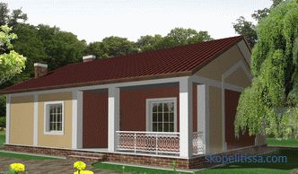 features of planning, construction stages, projects, photos