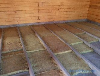 How to insulate the floor in a private house: the secrets of thermal insulation