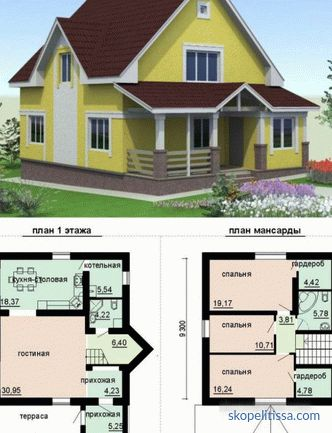 Construction of houses and cottages with communications and turnkey finishing in Moscow: projects, prices, photos