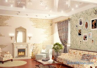 30 best ideas of interior decoration of a country house in the photo