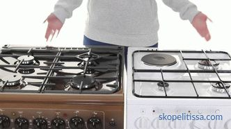 Gas stove to give a balloon: how to choose the perfect option