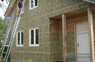 installation of the frame for siding, you need to know when finishing the facade, photos and video