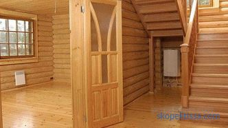 Prices for projects of houses from rounded log in Moscow, photos of projects of one-story houses
