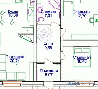Projects of private houses 10 on 12 one-storey and two-storey, layouts 10x12 in the catalog, prices in Moscow, photos