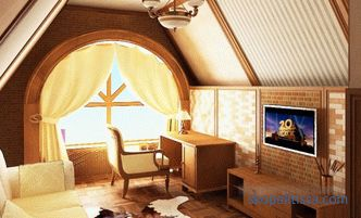 Attic design - photos of the best ideas, original design