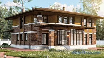 Projects of individual houses in Moscow: photos and prices