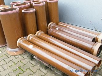 Drainage pipes: types, characteristics, application