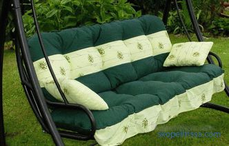 Garden Swing Mattresses - buy in Moscow at a bargain price