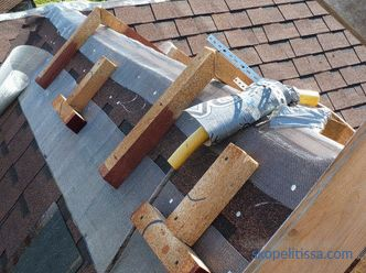 The ridge for a soft roof: what it is, how to install it correctly