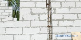 Reinforcement of aerated concrete blocks: expediency, purpose, types of reinforcement