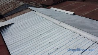 price for the repair of the roof of the garage in Moscow