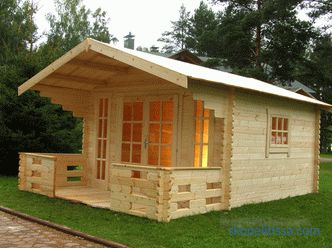 Country, garden houses and gazebos, the advantages of compact designs, a variety of turnkey projects