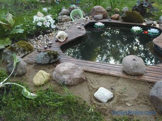 Ready-made garden ponds and bowls for ponds and fountains: buy cheap in Moscow