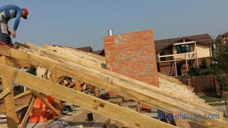 Construction of the roof of the house - the stages of construction and methods of fixing elements