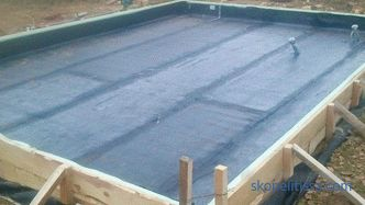 Foundation plate waterproofing: expediency, types, installation technology
