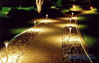 Garden lamp - criteria and nuances of choice