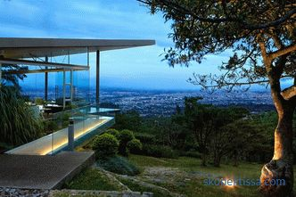 Country cottage for relaxing overlooking the city of San Jose in Costa Rica