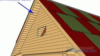 Gable roof overhang: what to consider when choosing