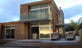High-tech houses, high-tech house projects with photos and prices