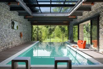Typical and individual projects of houses with a pool: the nuances of choice