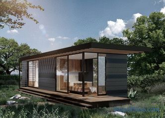 Modular homes for year-round living in Moscow turnkey: projects and price