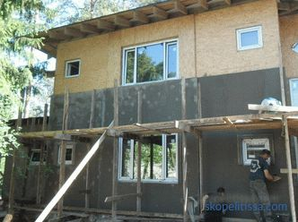 Internal and external decoration of the house of CIP panels - photos, the choice of materials