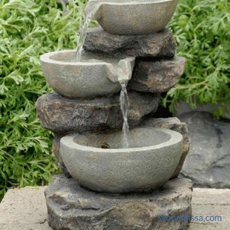 Garden fountains for home and garden - what you can buy in Moscow