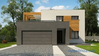 It is inexpensive to build a turnkey monolithic house in Moscow: projects and prices