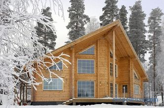 Winter houses from a turnkey bar for year-round permanent residence, projects and prices in Moscow