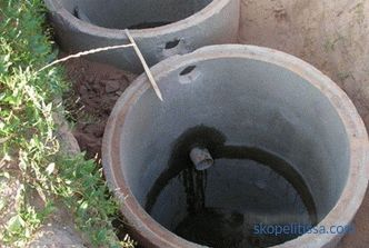Septic tanks for giving without pumping budgetary - the best options