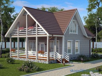 Planning a house 9 by 9 with an attic - the advantages and disadvantages of choosing a project