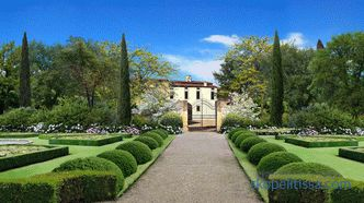Italian garden - the basic principles of creation