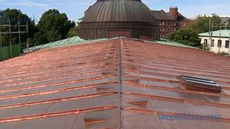 Metal roof: varieties, construction technology