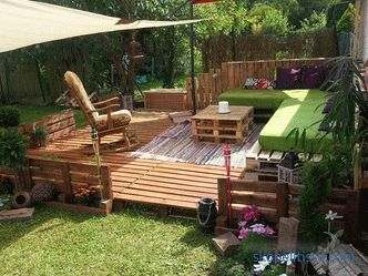 Examples of furniture and home decoration with pallets and pallets