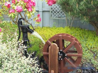 Decorative mill for a garden - production of a mill for a garden (+ photo)
