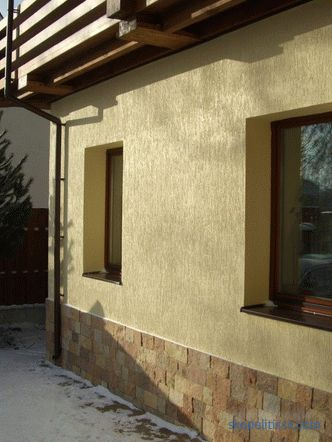 materials, types of decoration, prices for exterior decoration of a house in Moscow