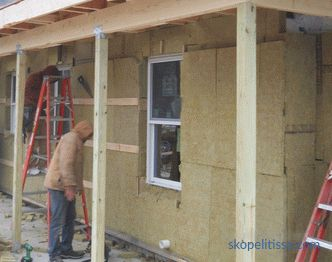 quality insulation, stages and features of work