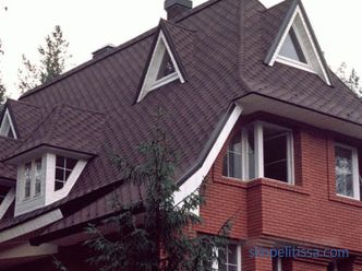 Half-hinged roof: design features, construction technology