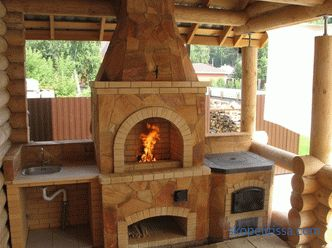 Barbecue area - photos of the best designs on the summer cottage, photos